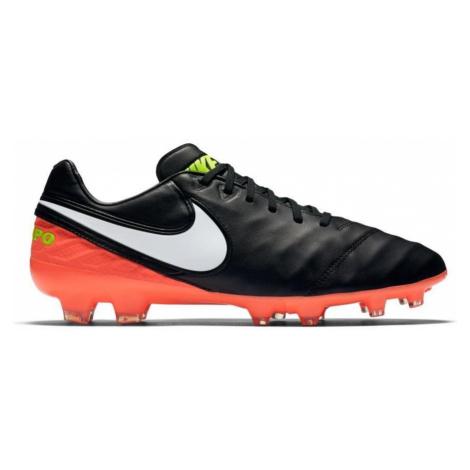 Kopačky Nike Tiempo Legacy II FG Černá / Oranžová
