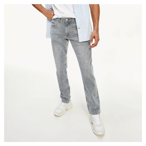 Tommy Hilfiger pánské šedé džíny Denton