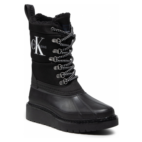 Calvin Klein Jeans Plus Mid Laceup Rainboot YW0YW00430