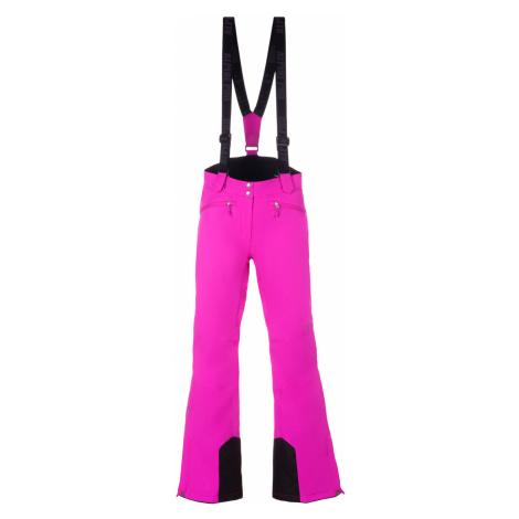 ALPINE PRO MINNIE 4 Dámské lyžařské kalhoty LPAM280411 fuchsiová