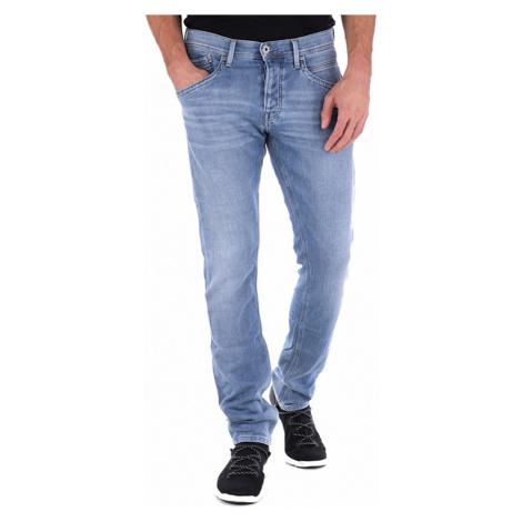 Pepe Jeans pánské světle modré džíny Track