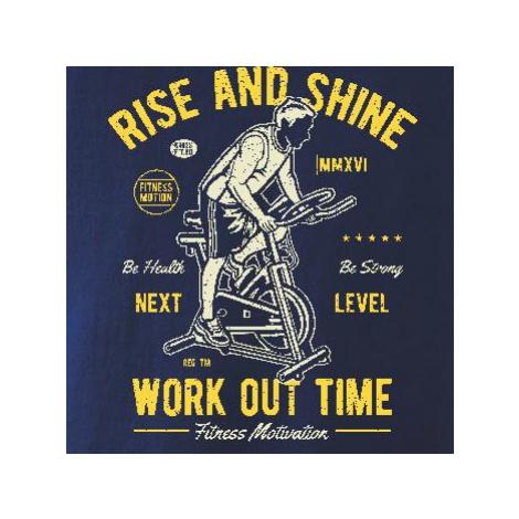 Work Out Time - Triko dětské Long Sleeve