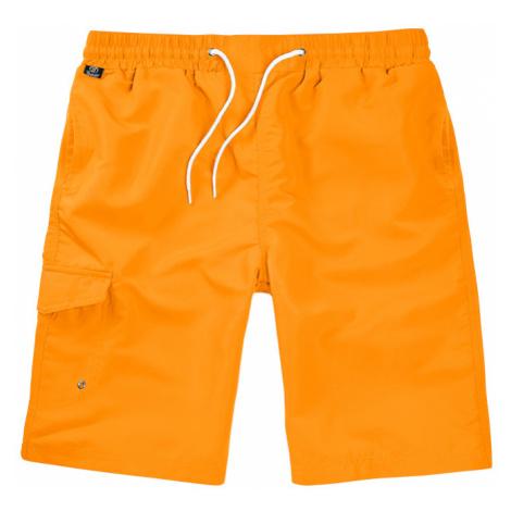 Brandit Kalhoty krátké koupací Swimshorts oranžové