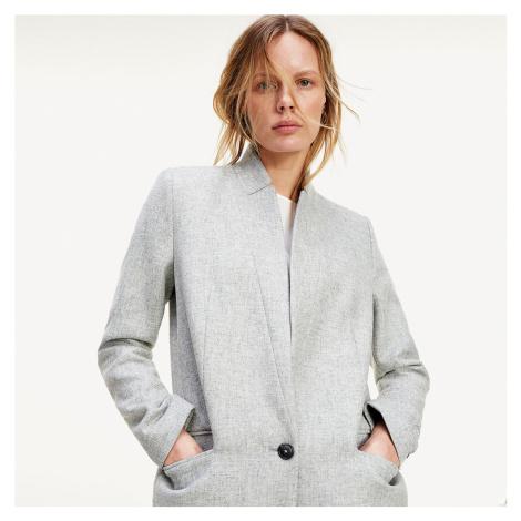 Tommy Hilfiger dámský šedý kabát