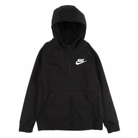 Nike Sportswear Mikina s kapucí černá