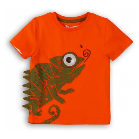 Minoti Tričko chlapecké s krátkým rukávem, Minoti, Lizard 1, oranžová