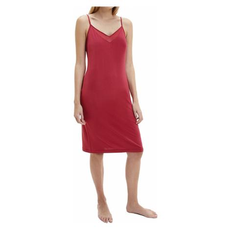 Calvin Klein noční košilka červená - Červená