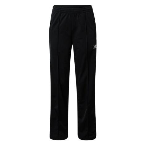 ADIDAS ORIGINALS Kalhoty 'Firebird' černá / bílá