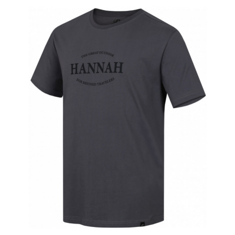 Pánské tričko Hannah Waldorf steel gray
