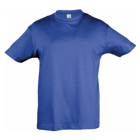 SOLS Dětské triko s krátkým rukávem REGENT KIDS 11970241 Royal blue SOL'S