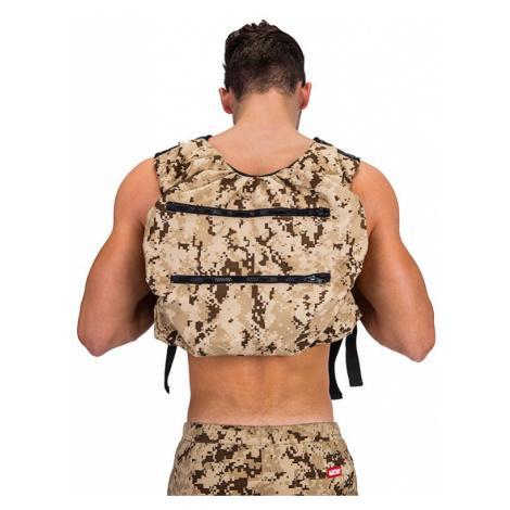 BARCODE BERLIN žluto-hnědý army batoh na záda Backpack Devil Soul