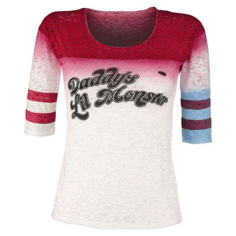 Suicide Squad Harley Quinn - Daddy's Little Monster dívcí triko s dlouhými rukávy vícebarevný