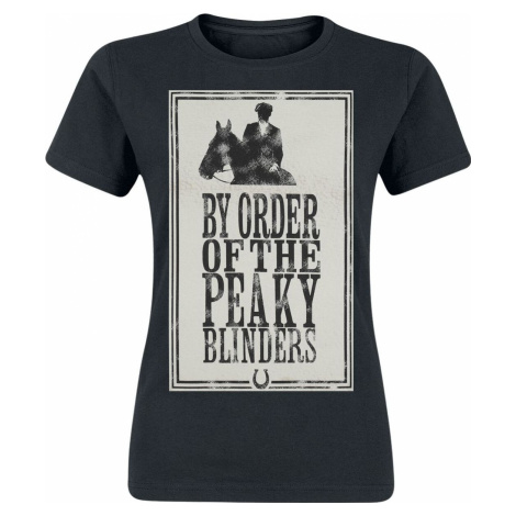 Peaky Blinders - Gangs Of Birmingham Framed Dámské tričko černá