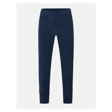 Džíny Peak Performance W Merion Pant - Modrá