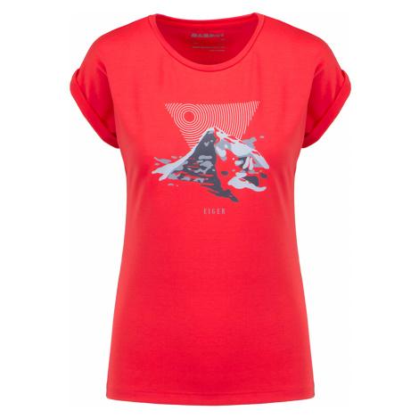 Tričko Mammut MOUNTAIN červená