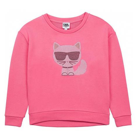 Karl Lagerfeld - Dětská bavlněná mikina