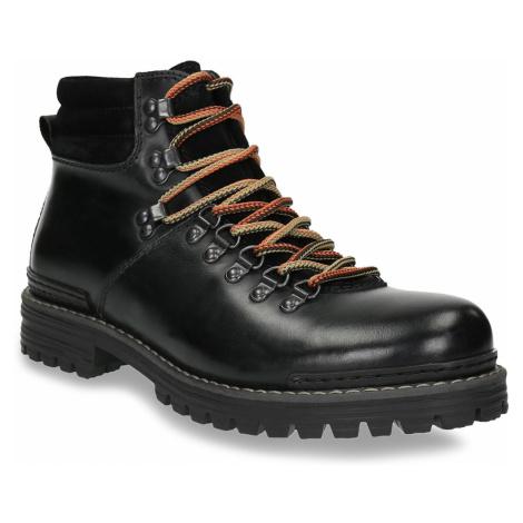 Pánská kožená zimní obuv Baťa