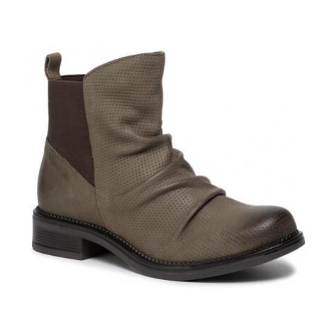 Kotníkové boty Lasocki ARC-TULIA-18 Přírodní kůže (useň) - Nubuk