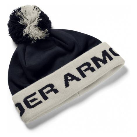 Under Armour Boys Gametime Pom Beanie Chlapecký kulich 1345388-002 Black