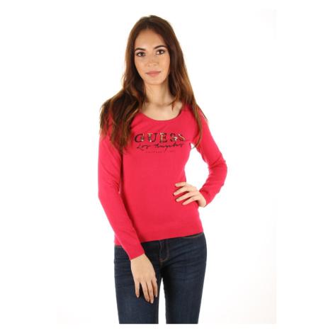 Guess dámský růžový svetřík Alyssa