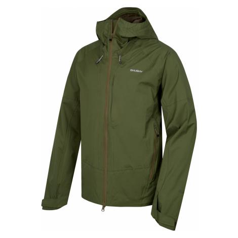 Husky Nicker M, tm.zelená Pánská hardshellová bunda