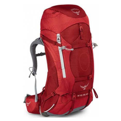 OSPREY ARIEL AG 55 Outdoorový batoh OSP2103041002 picante red