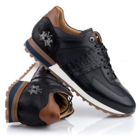 Tenisky La Martina Man Shoes Buttero - Černá