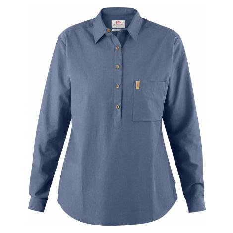 Dámská košile FJÄLLRÄVEN Kiruna lite shirt LS W, Blue Ridge Fjällräven