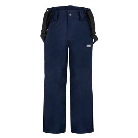 LOAP CUFOX Dětské lyžařské kalhoty OLK2014M37M Modrá