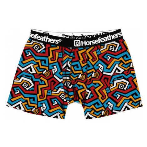 Pánské boxerky Horsefeathers Sidney maze (AM070Q)
