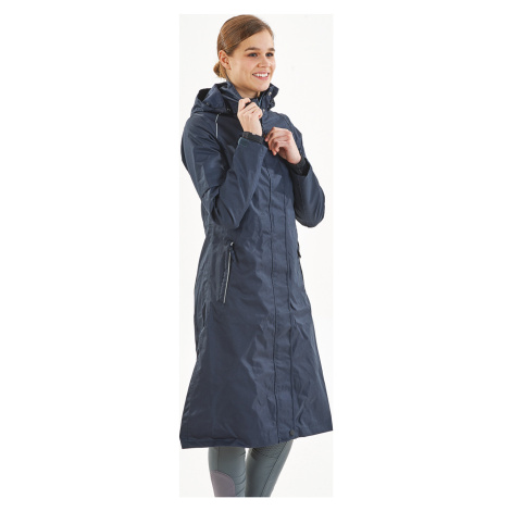 Kabát jezdecký nepromokavý Signy BUSSE, dámský, dark navy