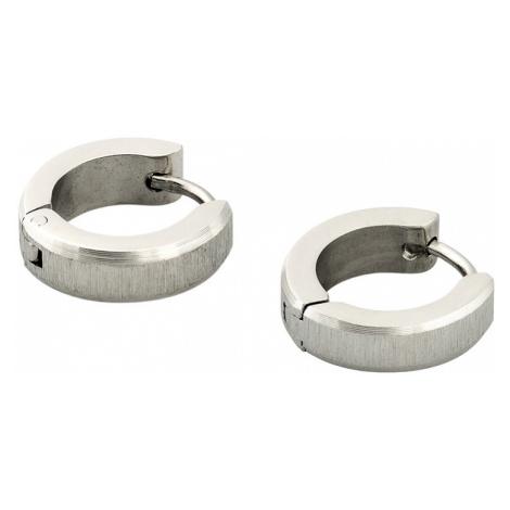 Lindas's Jewelry Náušnice Broušené Matné kruhy malé Chirurgická ocel IN191
