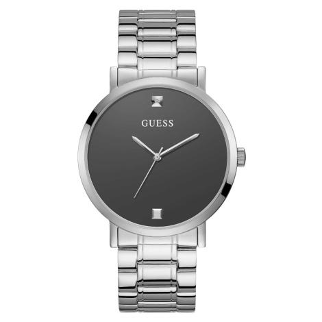 Guess pánské stříbrné hodinky