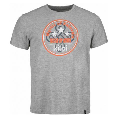 KILPI Pánské bavlněné tričko MYSTIC-M IM0125KIDGY Tmavě šedá