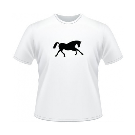 Pánské tričko na tělo Běžící kůň