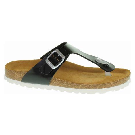 Salamander Dámské pantofle 32-13007-41 black Černá