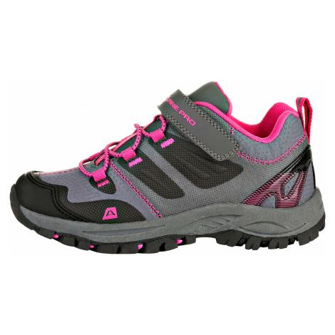 Dětská outdoorová obuv Alpine Pro MIKIRU - růžová