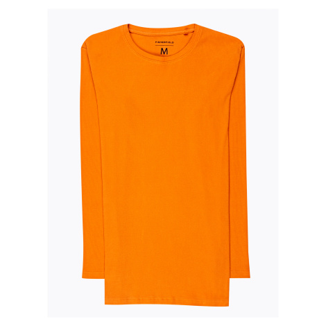 GATE Jednoduché žebrované tričko s dlouhým rukávem