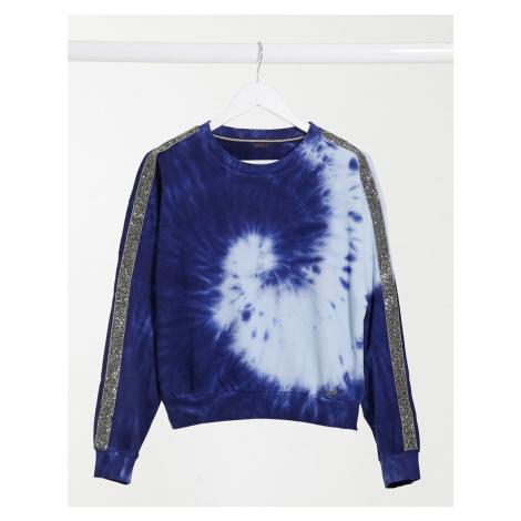 Salsa Elba tie dye sweatshirt in blue