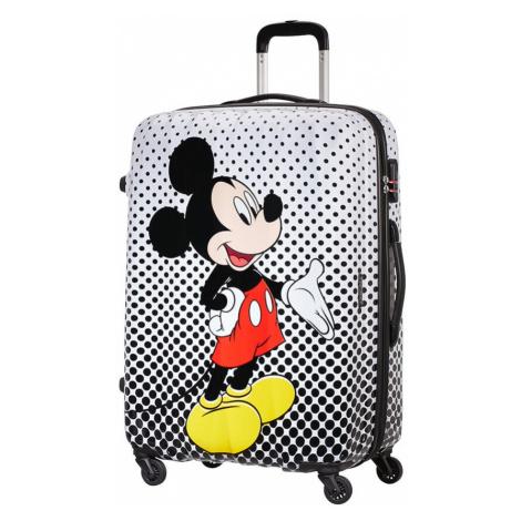 American Tourister Cestovní kufr Disney Legends Spinner 19C 88 l - Mickey Mouse Polka Dots