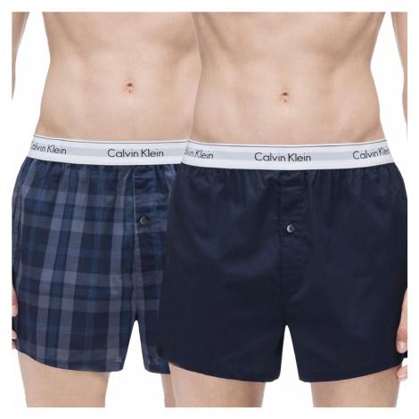 Calvin Klein trenky NB1396A 2 pack DWH - Vícebarevné