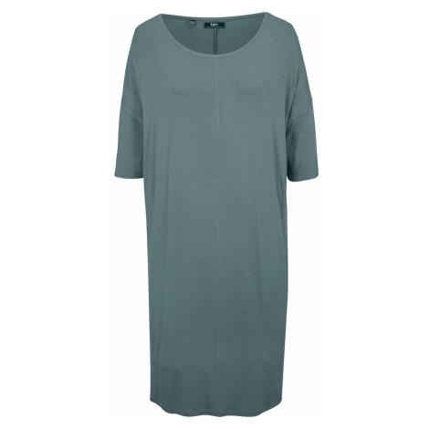 Žerzejové šaty, polorukáv Bonprix