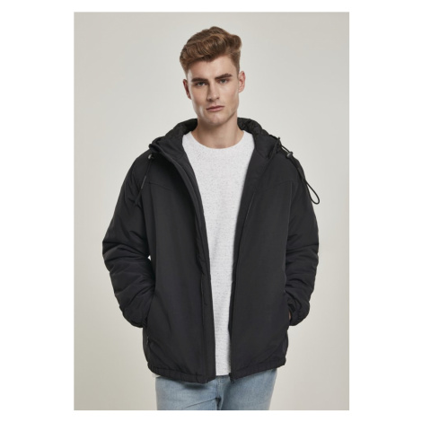 Hooded Easy Jacket - black Urban Classics