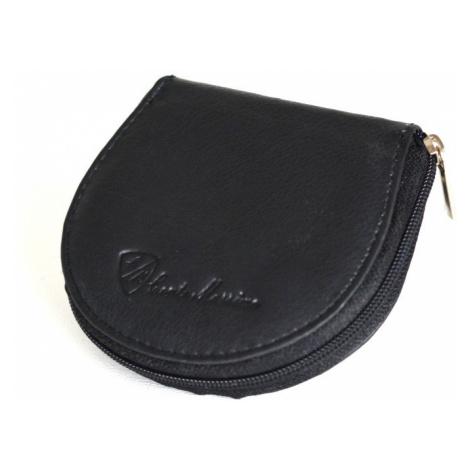 Peněženka na drobné se zipem malá kožená černá, 9 x 2 x 9 (SV00-1715.077-09KUZ)