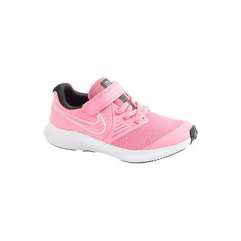 Růžové tenisky na suchý zip Nike Star Runner 2