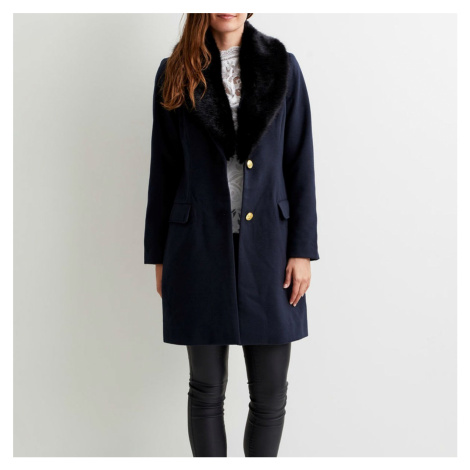 Tmavě modrý kabát – Vicoral Vila