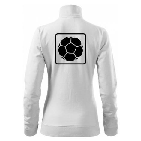 Fotbalový míč emblem - Mikina dámská Viva bez kapuce